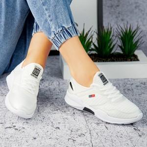 Buty sportowe sklep-szpilka24 z płaską podeszwą