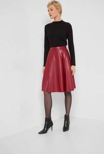 Czerwona spódnica ORSAY ze skóry ekologicznej