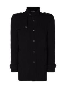 Czarny płaszcz męski Selected Homme