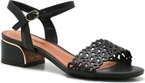 Sandały Bottero na obcasie z klamrami
