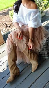 Różowa spódnica Hypnotize Butik z tiulu