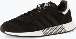 adidas Originals - Tenisówki męskie z dodatkiem skóry – Marathon Tech, czarny