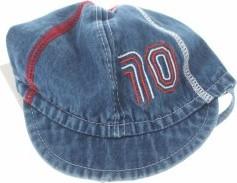Niebieska czapka Brums