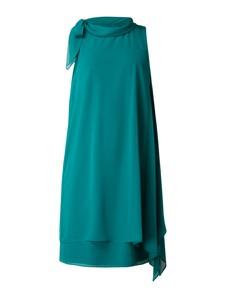 Sukienka Vera Mont z szyfonu bez rękawów