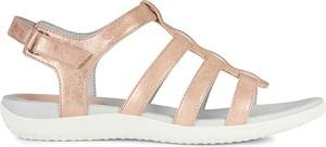 Brązowe sandały Geox w stylu casual