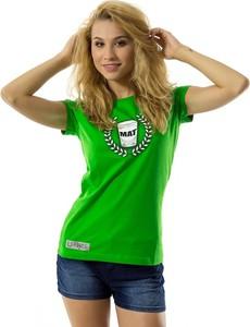 T-shirt Mat Wear z żakardu