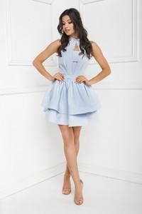 Sukienka Marcelini z dekoltem typu choker