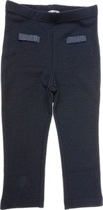 Czarne spodnie dziecięce Monnalisa