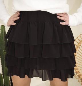 Czarna spódnica Miley.pl mini