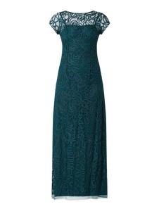 Sukienka Luxuar z okrągłym dekoltem maxi