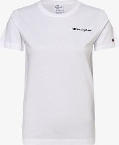 T-shirt Champion z krótkim rękawem z bawełny z okrągłym dekoltem