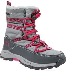 Buty dziecięce zimowe Kappa sznurowane