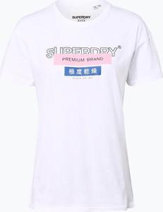 T-shirt Superdry w stylu casual z krótkim rękawem z okrągłym dekoltem