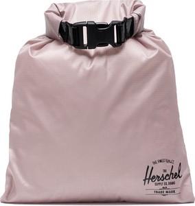Różowa torebka Herschel Supply Co. średnia na ramię w wakacyjnym stylu
