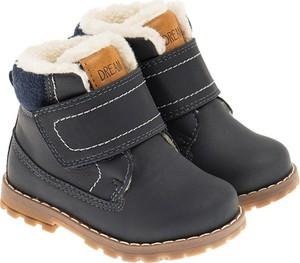 Granatowe buty dziecięce zimowe Cool Club dla chłopców