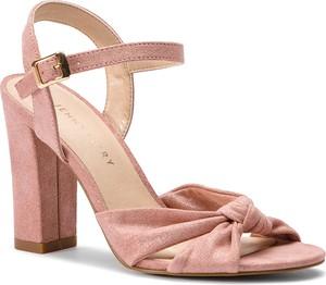 Sandały Jenny Fairy ze skóry ekologicznej z klamrami w stylu casual