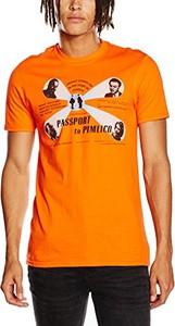 Pomarańczowy t-shirt rockoff trade