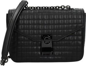 Czarna torebka Céline średnia ze skóry