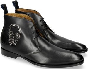 Czarne buty zimowe Melvin & Hamilton sznurowane