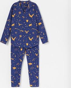 Granatowa piżama Reserved dla chłopców