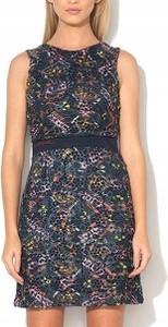 Granatowa sukienka Desigual w stylu casual mini