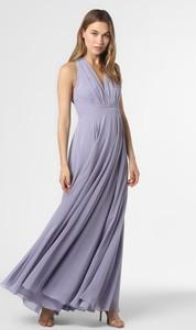 Fioletowa sukienka Marie Lund maxi