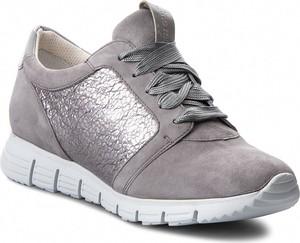 Buty sportowe Gino Rossi z zamszu sznurowane w stylu casual