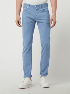 Spodnie Jacob Cohen z bawełny w stylu casual