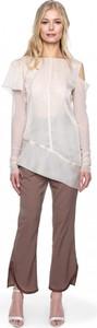 Tunika ANETA KRĘGLICKA X L'AF z tkaniny w stylu casual