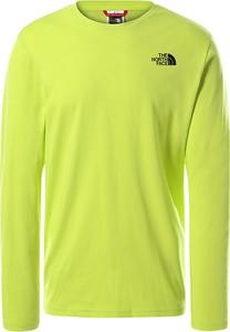 Koszulka z długim rękawem The North Face z długim rękawem z bawełny w sportowym stylu