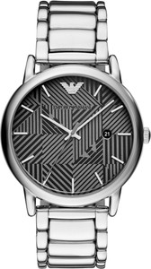 Zegarek EMPORIO ARMANI - Luigi AR11134 Silver/Silver