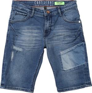 Niebieskie spodenki dziecięce Cars Jeans