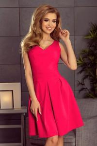 Sukienka NUMOCO mini z dekoltem w kształcie litery v bez rękawów