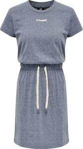Sukienka Hummel z okrągłym dekoltem