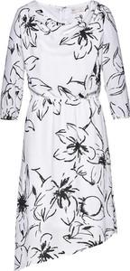 Sukienka bonprix bpc selection z okrągłym dekoltem w stylu casual