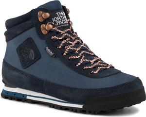 Niebieskie buty trekkingowe The North Face