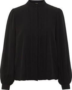 Czarna koszula Vero Moda w stylu casual krótka