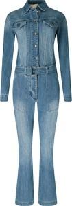 Niebieski kombinezon Michael Kors z jeansu