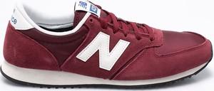Bordowe buty sportowe New Balance
