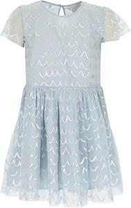 Sukienka dziewczęca Stella McCartney z bawełny