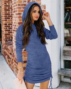 Sukienka Kendallme w stylu casual mini z długim rękawem