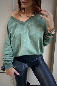 Bluzka LIMONKA w stylu casual