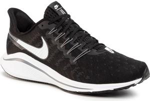 Czarne buty sportowe Nike sznurowane zoom