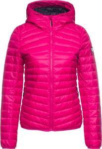 Różowa kurtka Superdry w stylu casual