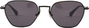 Czarne okulary damskie Alessandra Rich