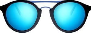 Turkusowe okulary damskie Woodys Barcelona