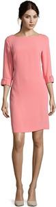 Różowa sukienka Vera Mont z długim rękawem