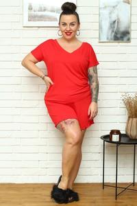 Czerwona piżama KARKO