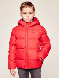 Czerwona kurtka dziecięca Tommy Hilfiger