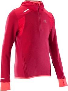 Czerwona bluza dziecięca Kalenji